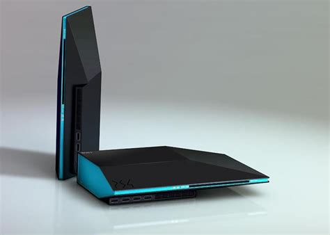 Playstation 4 Console Concept Design - Author Unknown