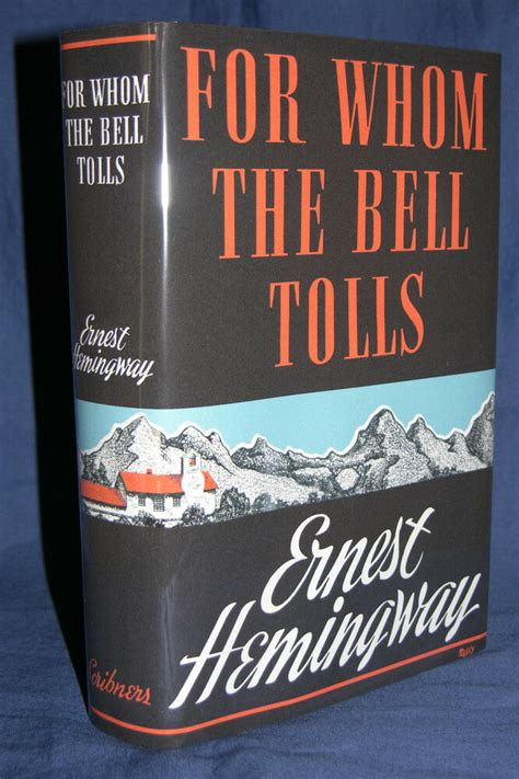 1940 FOR WHOM THE BELL TOLLS Ernest Hemingway 1st edition