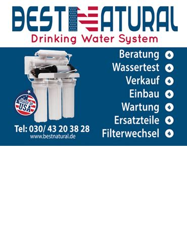 BESTNATURAL Drinking Water Systems