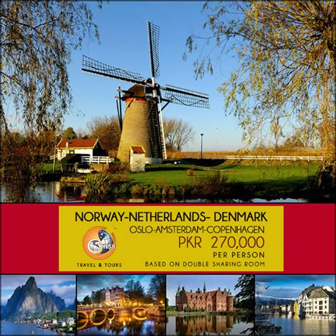 Norway, Netherlands & Denmark Tour – One58 Travel & Tours