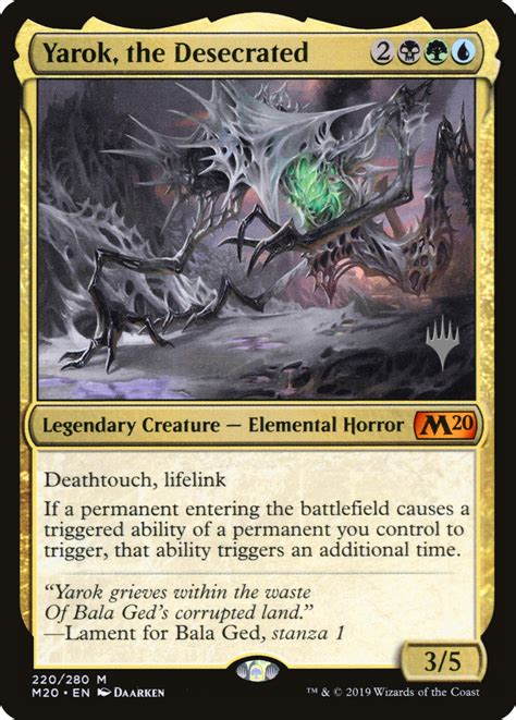 Yarok, the Desecrated of pPCS $21