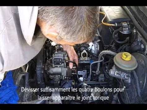 Fuite Pompe Injection BOSCH - YouTube