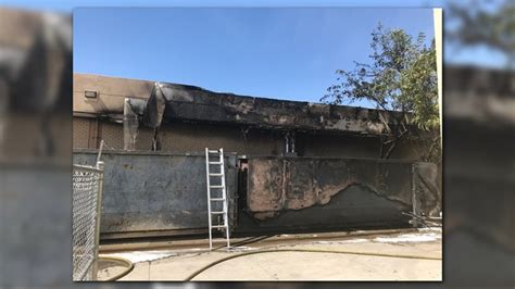 Students, staff evacuate at Alhambra High School for fire