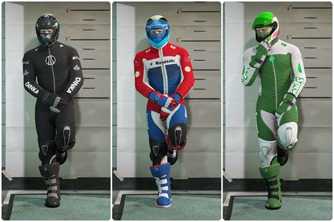 Motorcycle Clothing Pack (Menyoo Outfits) - Personnages