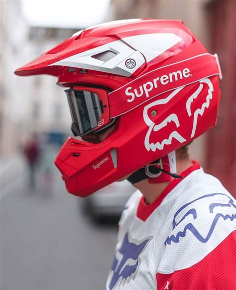 Hyped - Supreme x Fox Racing (With images) | Racing gear