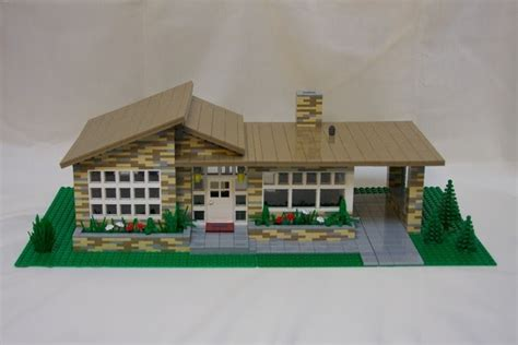 Mad for Mid-Century: Mid-Century Modern Lego Homes