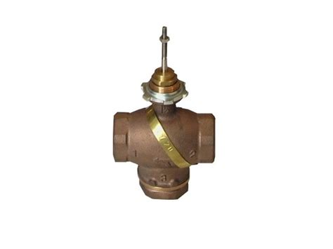 """3-ways linear valves1/2"""" --> 2"""", threaded connection, type"""