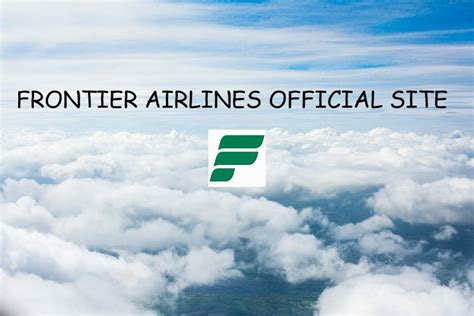 Frontier Airlines Official Site - www