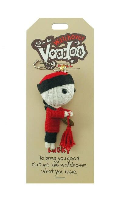 Lucky Voodoo Doll Keychain - The Psychology Shop