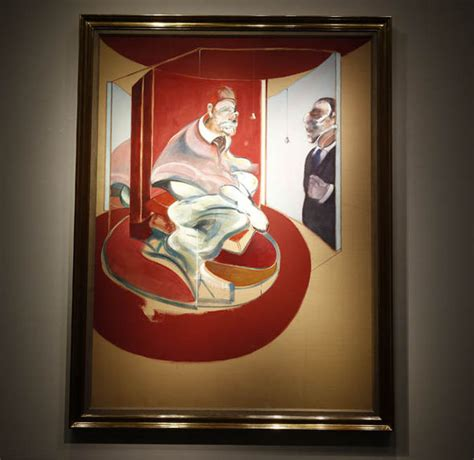 Francis Bacon's painting 'Study of Red Pope' to sell for