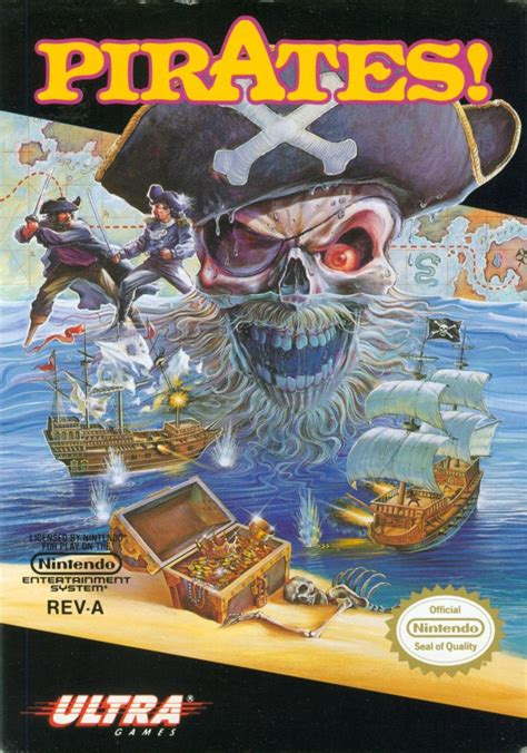Sid Meier's Pirates! for NES (1991) - MobyGames
